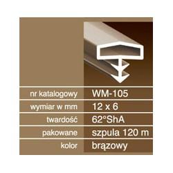 Uszczelka do drzwi drewnianych USZ155.3