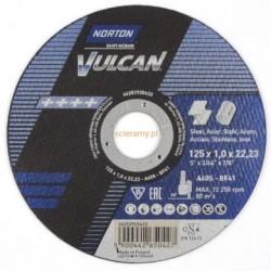 Tarcza VULCAN do cięcia stali 125x1,0 0118042