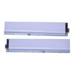 Boki szuflady BLUM ANTARO 350mm szare Y36-378M3502