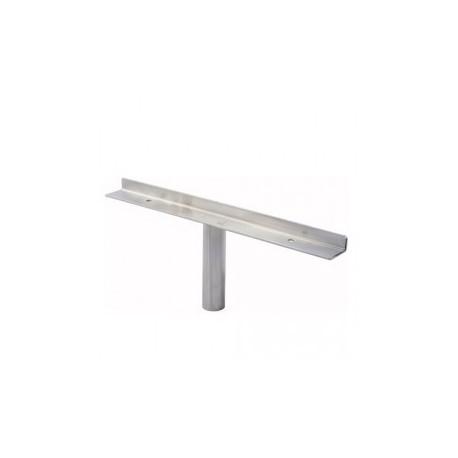 Wspornik półki - Ø 25 chrom SZ535CR
