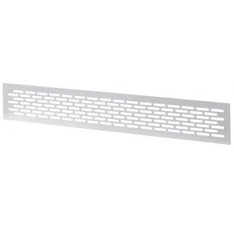 Kratka wentylacyjna 80X480 biała AWMR2B