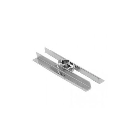 Wspornik półki - Ø 25 chrom SZ533CH