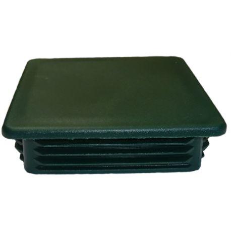 Zaślepka kwadratowa 100x100mm zielona TULZAS100100Z