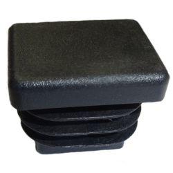 Zaślepka prostokątna 25x45mm czarna TULZAS25X45CZ