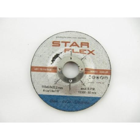 Schleifscheibe Star Flex INOX 115x6.0 POSTZI1156022