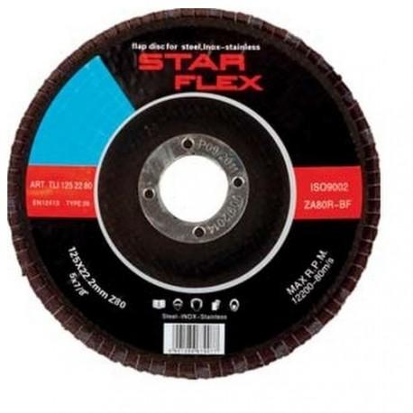 Tarcza do szlifowania listkowa 60 Star Flex POSTLI1252260