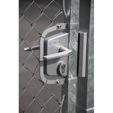Zamek LAKQ30U2 przemysłowy WADZAM01.4 srebrny