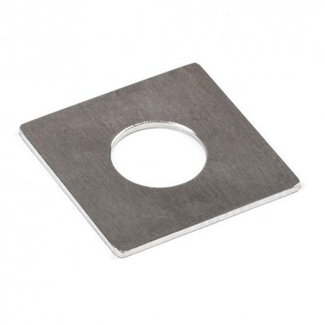 Szyld inox o wymiarach 50x50 mm SZY55.11