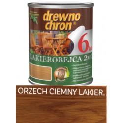 Lakierobejca DREWNO CHRON orzech ciemny 0,8l BAWLAK10.21