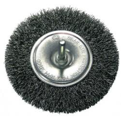 Szczotka tarczowa fi 120mm z trzpieniem X32432