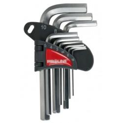 Zestaw kluczy imbusowych długich 1,5-10mm X48329