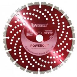 Tarcza diamentowa POWERCUT350 WERTEC EN-TARBETZ350