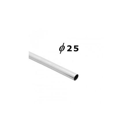 Rura okrągła - Ø 25 chrom SZAC500F300CH