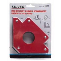 Magnetyczny uchwyt spawalniczy 50LBS SILV-UCH02