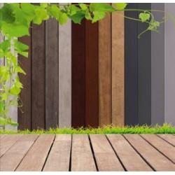 Panel ogrodzeniowy SANTANA OAK KOMAPAN XKOM00A