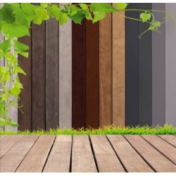 Panel ogrodzeniowy EICHE RUSTIKAL KOMAPAN XKOM3737
