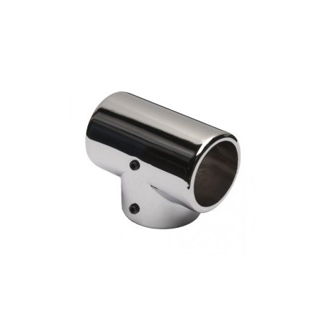 3-fach Rohrverbinder für Rohr - Ø 25mm Chrom Design