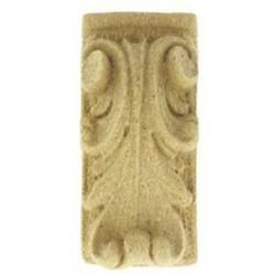 Ornament z pyłu drzewnego Kapitel 65x30mm ORN48.02
