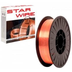 Drut spawalniczy STAR WIRE 1,0mm (5kg) POS005.10X