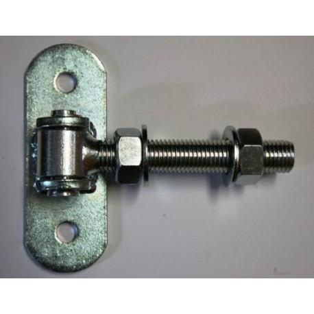 Zawias regulowany M-16 do przykręcania ZAW230.58