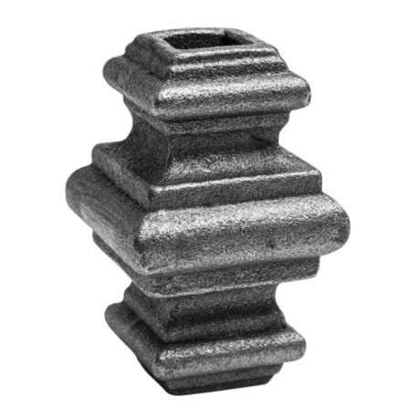 Nasadka na pręt 12x12mm POS41.022