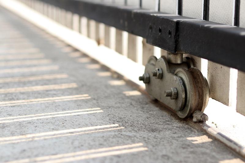 Wózki jako elementy konstrukcji bram przesuwnych